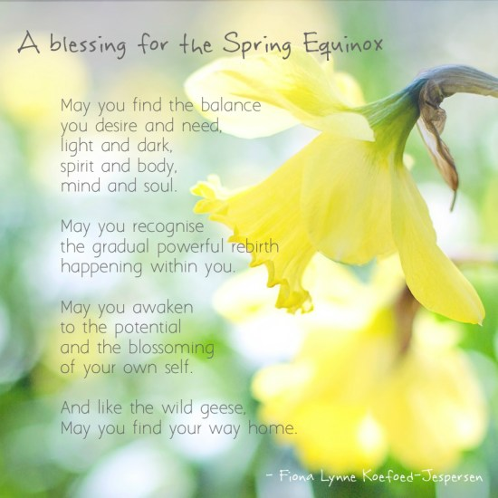 Celebrating the Spring Equinox as a Christian (with a blessing)