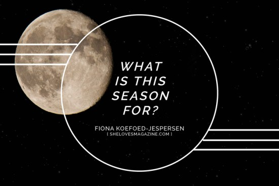 What is this season for?