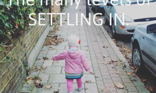 The many levels of settling in // fiona lynne