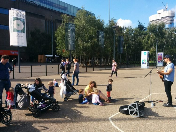 South Bank with toddlers
