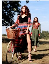 Boho Twins for ELEGANT magazine Models: Tiffany and Taliah Sanderson from Oxygen Modelling Management Stylists: Quentin Hubert and Market Cartel Photographer: Don Greenwood Makeup Artist/Hair Stylist: Fiona Neal
