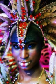 Make-up Designer: Kitty Noofah Make-up Assistants: Fiona Neal and Amber Julie For Bacchanalia UK Masband Notting Hill Carnival 2017 Costume Collection. Designer Kelly Rajpaulsingh