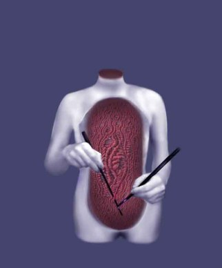 Surgeon, digital print, 2011