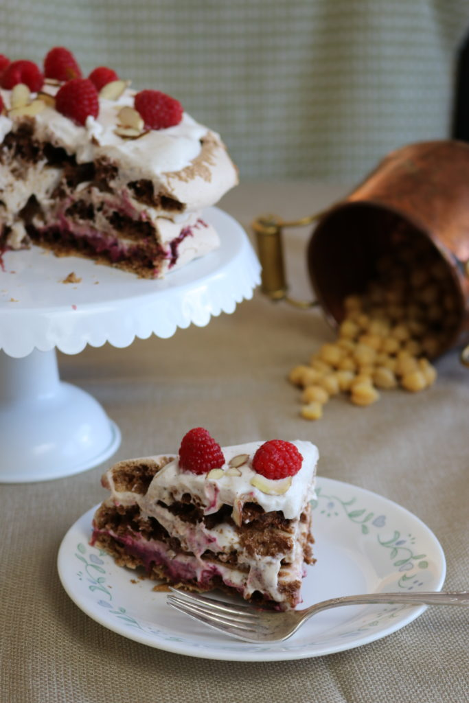 Vegan Chocolate Pavlova (Aquafaba, Gluten-Free)