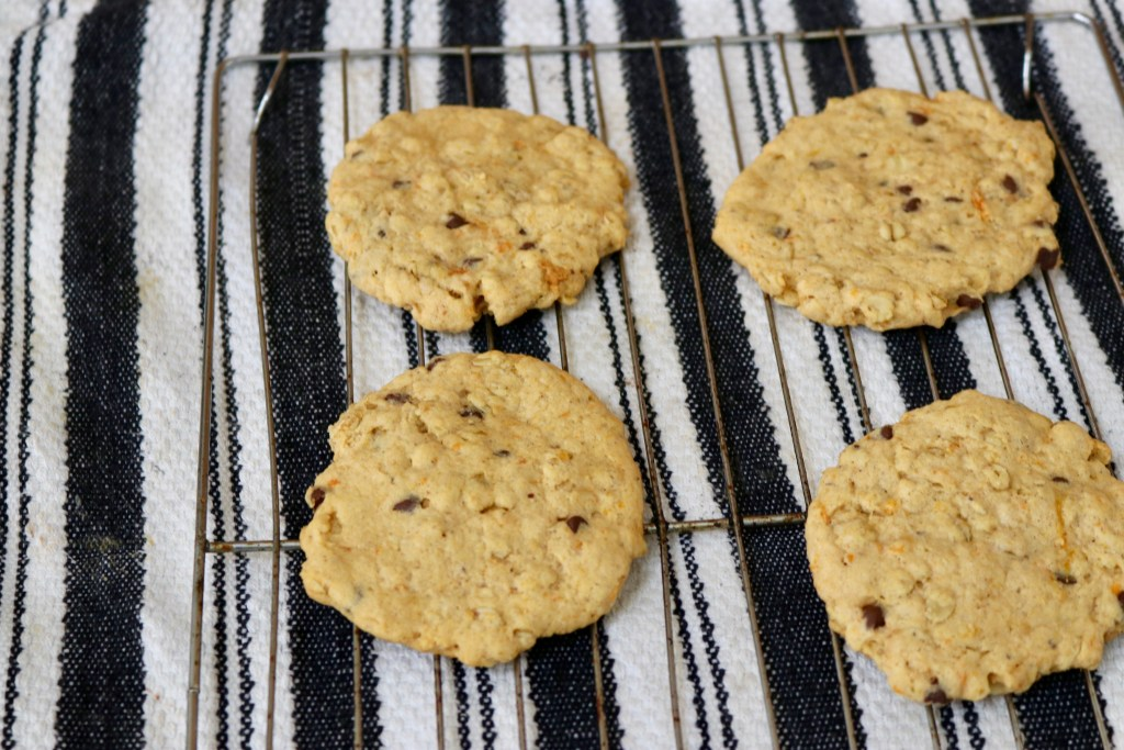 healthy chocolate oatmeal cookie (vegan)