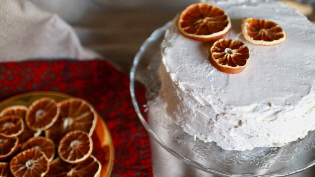 Parsnip Pear Spice Cake (Vegan)