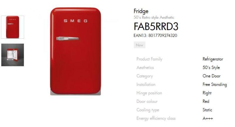 SMEG冰箱