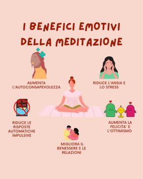 I BENEFICI EMOTIVI DELLA MEDITAZIONE
