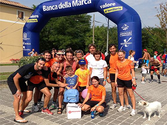foto gruppo partecipante maratonina Fiorot
