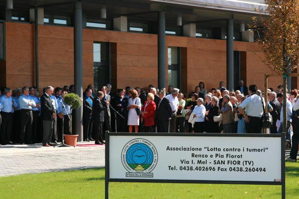 inaugurazione nuova sede Associazione Fiorot a san Fior