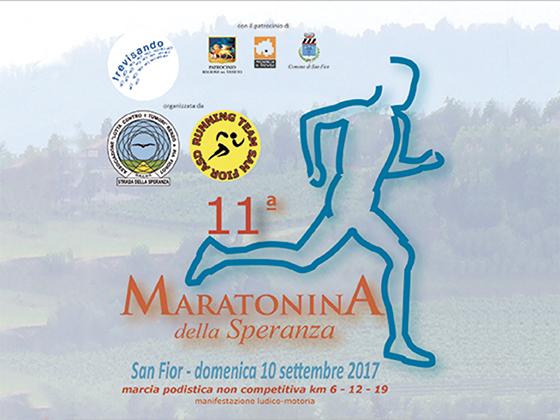 logo della 11° maratonina della speranza