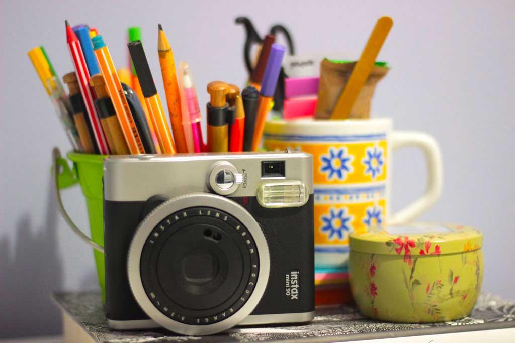 Fotografar em casa com a Instax Mini 90