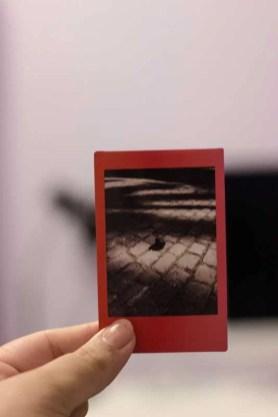 Filme Instax Mini 9 borrado