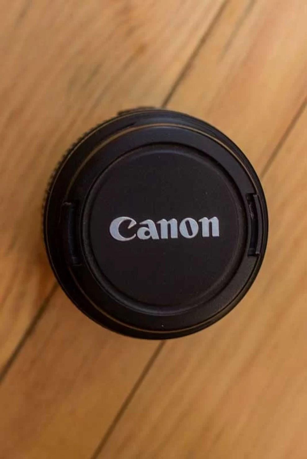 Tampa da Canon EF 18-55mm