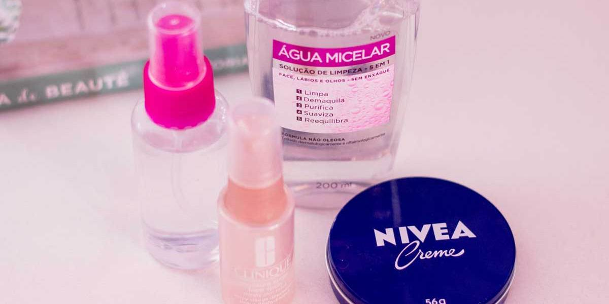 Cuidar da pele do rosto
