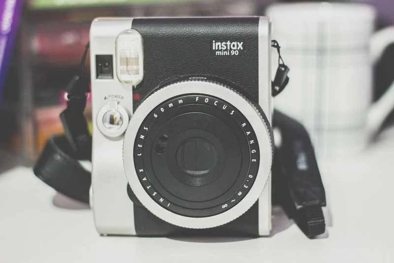 Fotografia analógica Instax Mini 90