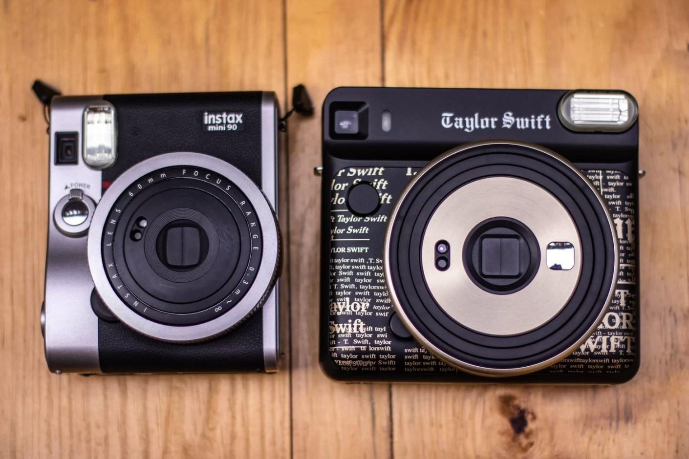 Comparando as duas câmeras
