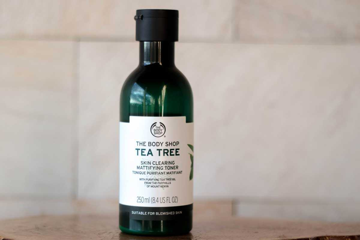 Tônico de Limpeza Facial Tea Tree
