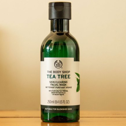 Gel de Limpeza Facial Tea Tree