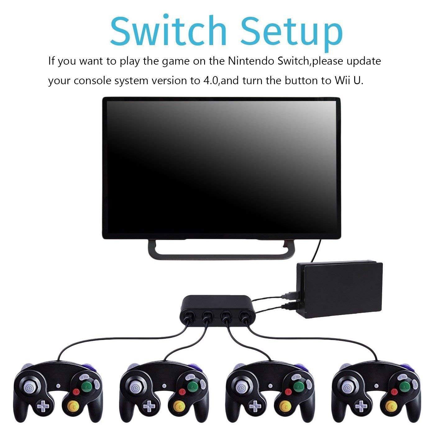 FIOTOK GameCube Controller Adapter