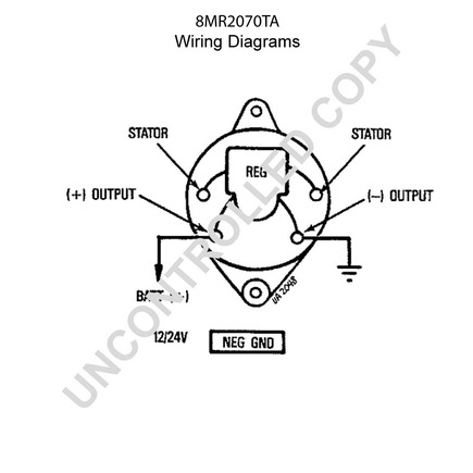 7685n Alternator Wiring Diagram