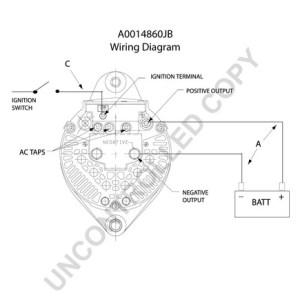 A0014860JB by LEECE NEVILLE  High Output Alternator