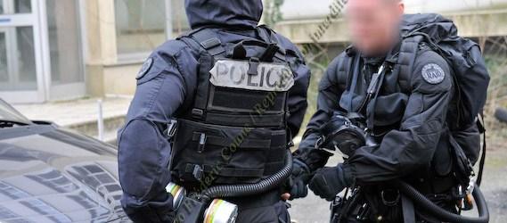 Le RAID DCI/NRBC © Fréderic Coune