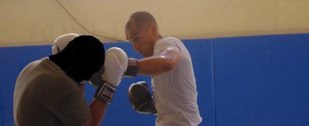 Entraînement boxe et MMA à la BI