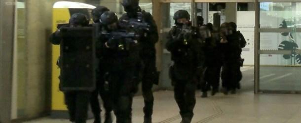 Le RAID, le GIGN et la BRI réunis pour une simulation d'attentat en gare Montparnasse