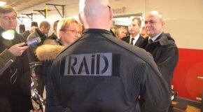 Rennes. Le ministre de l'Intérieur rencontre le Raid et la gendarmerie