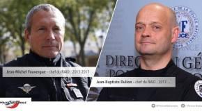 Le nouveau patron du RAID, Jean-Baptiste Dulion, prend ses fonctions