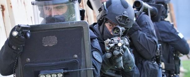 À l'entraînement avec les super-policiers du RAID de Rennes