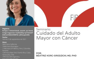 Seminario FIPOL: Cuidado del Adulto Mayor con Cáncer