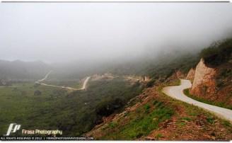 Mountain roads in Salalah