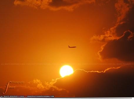 High above the Sun?