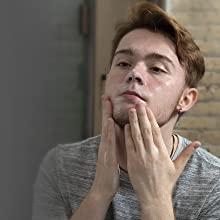 face wash men skin cream facial moisturizer cleanser acne exfoliating lotion spf sensitive oil serum