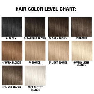 hair color level
