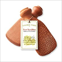 foot scrubber tag never wears out kiln fired virtually indestructible never dull rust other tools