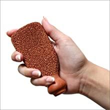 comfortable easy to hold ergonomically design eliminator soften coarse pedimask healthy