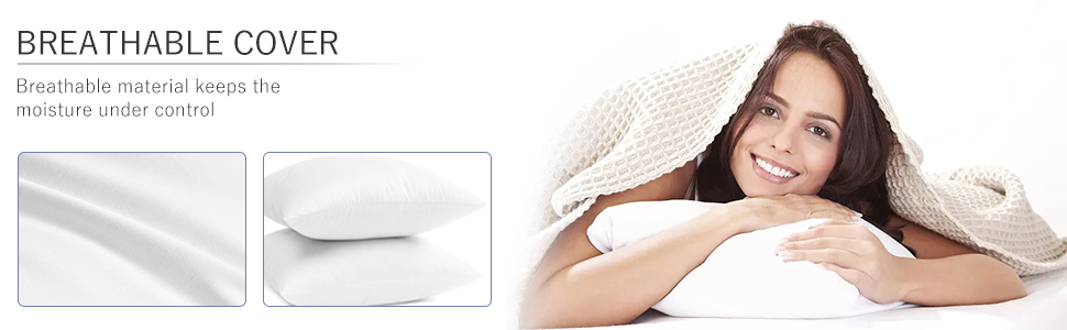breathable sofa cushion soft pillow inserts