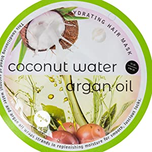 Spa Life Coconut Water Argan Oil Hair Mask