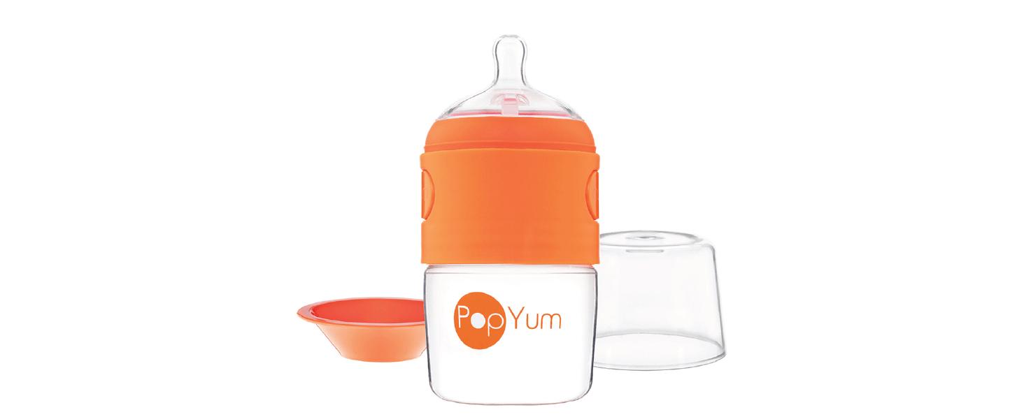 Better everyday PopYum formula making mixing dispensing baby bottle best