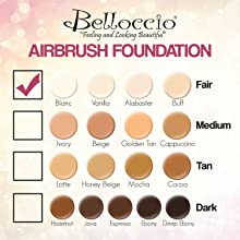 Belloccio Airbrush Makeup