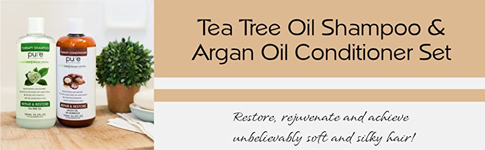 Restore, rejuvenate and achieve  unbelievably soft and silky hair!