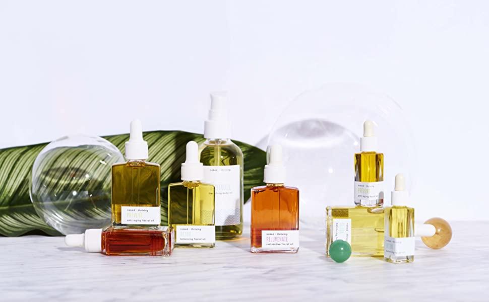 Face Oil, Body Oil, Organic, Vegan, Cruelty-Free