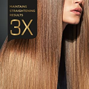 Maintains straightening results
