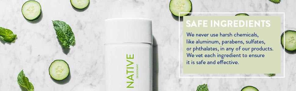 native deodorant natural aluminum free paraben cruelty gift father mother men women usa organic free