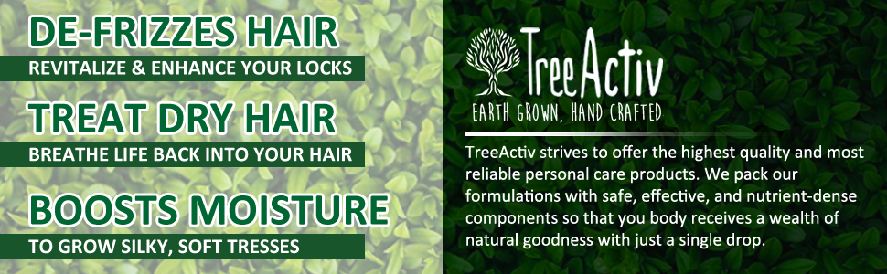TreeActiv Hair Growth Daily Nourishing Spray Benefits