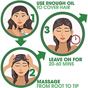 Apply Oil, Massage, Leave on