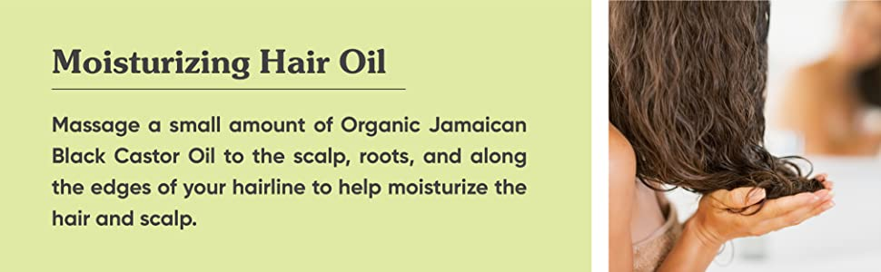 moisturizing split ends Massage a small amount organic jamaican oil to scalp roots edges of hairline